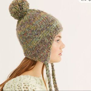 Free People Fox Trot Trapper hat beanie new